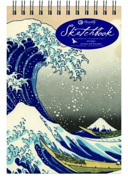 Hokusai Wave - Medium - Top Spiral