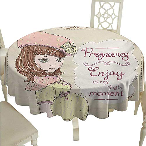Quotes Elegance Engineered Christmas Tablecloth Pregnancy Enjoy Every Single Moment Clipart Pregnant Woman Dress Hat Runners,Gatsby Wedding,Glam Wedding Decor,Vintage Weddings D70 Eggshell Pink Multi