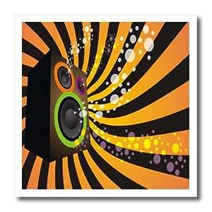 ht_99590_2 Spiritual Awakenings Music - Vector art speaker art - Iron on Heat Transfers - 6x6 Iron on Heat Transfer for White Material