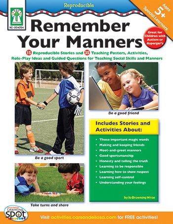 CARSON DELLOSA Remember Your Manners Book