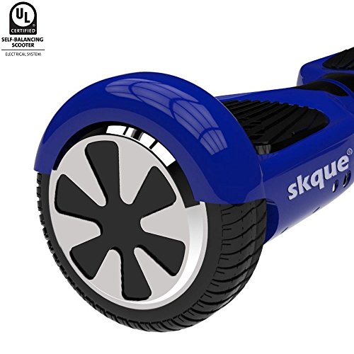 Skque Self Balancing Scooter (MAX 220 lbs), 6.5' I1 UL2272 Hoverboard Smart Two Wheel Self Balancing...