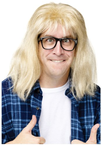 InCharacter SNL Garth Algar Wig - ST by Fun World ()