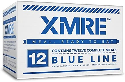 XMRE Blue Line – 12 Case MRE Meals
