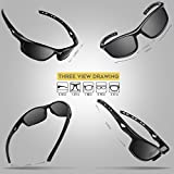 RIVBOS Polarized Sports Sunglasses Driving Sun