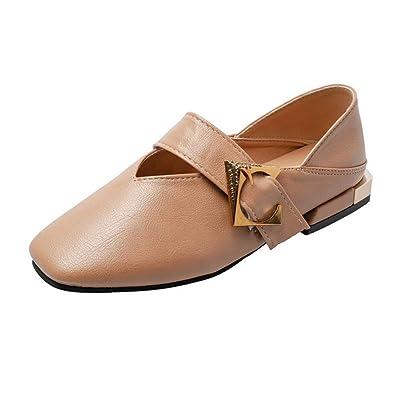 ce1e81f3a3 Amazon.com   Comfortable Classic Flats Women's Shoes Mary Jane Walking  Ballet Elastic   Flats