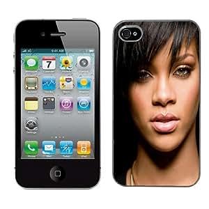 Rihanna cas adapte iphone 4 et 4s couverture coque rigide de protection (9) case pour la apple i phone