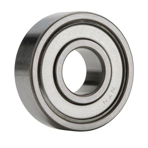 NTN 6204Z - Radial/Deep Groove Ball Bearing - Round Bore, 20 mm ID, 47 mm OD, 14 mm Width, Single Shield, CN by NTN