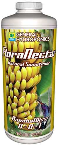 General Hydroponics Flora Nectar Banana Bliss for Gardening, 1-Quart