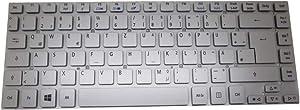 Laptop Keyboard for Acer Aspire V3-431 V3-471 V3-471G V121646CK4 GR AEZQSG01110 German GR Silver NO Frame
