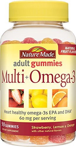 Nature Made Multi Plus Omega3 Gummies, 90 Count For Sale