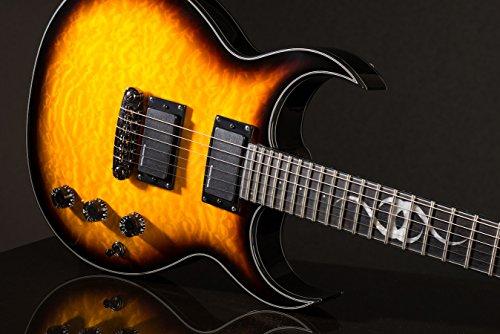 Ethan Hart Guitar EH-2 Tobacco Sunburst Double (Body Electric Guitar Tobacco Sunburst)