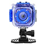 60 fps sports camera - Ourlife Kids Digital Camera,Waterproof Camera for Kids with 1.77 Inch LCD Display (Memory card not included)