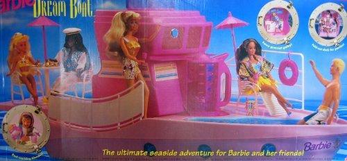 Barbie Vintage Umbrella (Barbie DREAM BOAT Playset - Ultimate Seaside Adventure (1994))