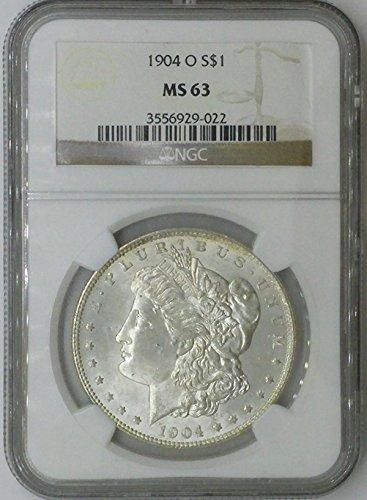 1904 O Morgan $1 MS63 NGC Silver Dollar Old US Coin 90% ()