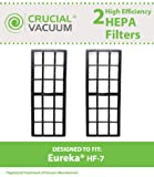 eureka vacuum filter hf 7 - 2 Replacements for Eureka HF7 HEPA Style Filter Fits Upright Vacuums, Compatible With Part # 61850, 61850A & 61850B, by Think Crucial