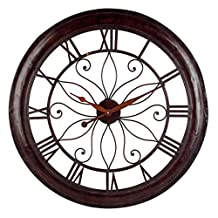 Imax Max & Nellie Oversized Wall Clock, 30.25 x 0 x 0""