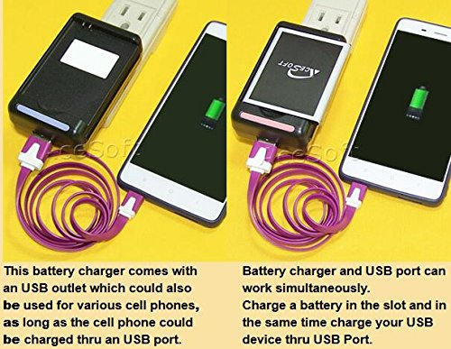 High Capacity 2 x 4000mAh Rechargeable Business Battery Travel Desktop Wall USB/AC Charger Data Cable Stylus for Samsung Galaxy Victory 4G LTE SPH-L300 Android phone