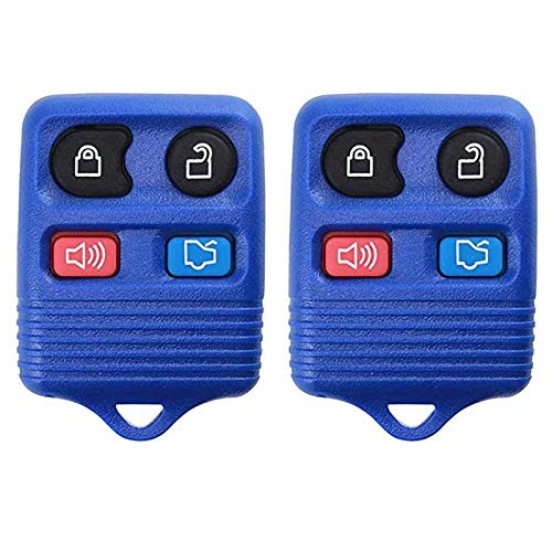 - For 98-16 Ford Lincoln Mercury Mazda Keyless Entry Remote Key Fob 4btn NAVY CWTWB1U212, CWTWB1U331, GQ43VT11T, CWTWB1U345-2 PACK
