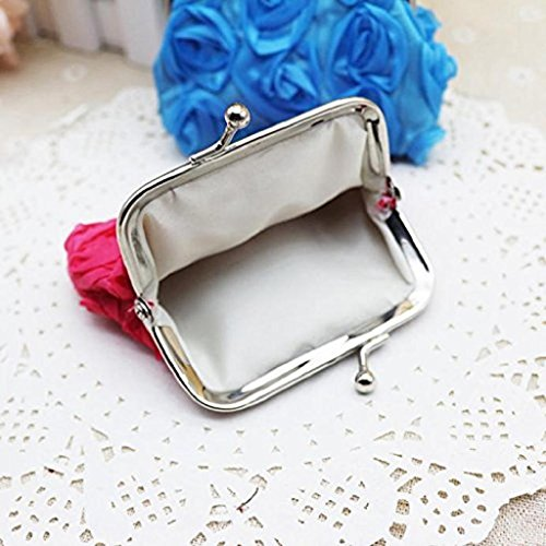 Wallet Handbag Clutch Purse Noopvan Flower 2018 Bag Pink Wallet Small Rose Wallet Hot Sale Clearance Womens Coin TwHgwqd