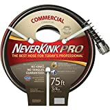 Teknor Apex Never Kink Series Commercial Duty Pro Garden Hose (3/4-Inch by 75-Feet)