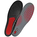 Jobsite Therapeutic Massaging Gel Work Insoles, Everyday Comfort and Support Fight Lower Body Fatigue, Sweat and Odor while Massaging Feet, Trim to Fit for Women 6-11