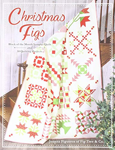 It's Sew Emma ISE-922 Christmas Figs Block of The Month Book None