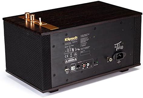 Klipsch The Three - Sistema estéreo de sobremesa, Marrón: Amazon ...