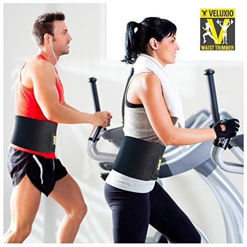 veluxio ceinture abdominale de sudation unisexe support lombaire tout pour le sport. Black Bedroom Furniture Sets. Home Design Ideas