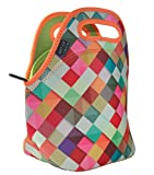 "Neoprene Lunch Bag by ART OF LUNCH - Large [12"" x 12"" x 6.5""] Gourmet Lunch Tote - Insulated Lunch Bag - A Partnership with Artists Around the World - Design by Danny Ivan (Portugal) - Pass This On"