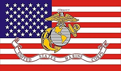 Image Unavailable. Image not available for. Color  Marine Corps American  FLAG ... 015fc1195