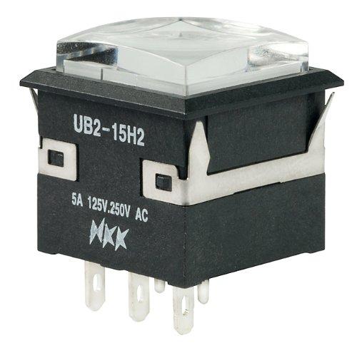 NKK Switches Part Number UB215KKW016B-1JB