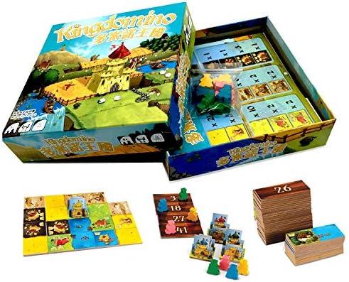 GWLTV Tarjeta de Rompecabezas Juegos de Mesa Juguetes Domino Unido Familia Juego de Mesa Juegos de Ajedrez Tarjetas: Amazon.es: Hogar