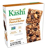 Cheap Kashi, Chewy Granola Bars, Chocolate Peanut Butter, Vegan, Non-GMO Project Verified, 7.4 oz (6 Count)(Pack of 8)