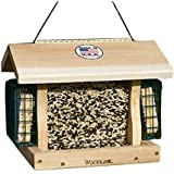 BestNest Woodlink Premier Cedar Seed & Suet Bird Feeder