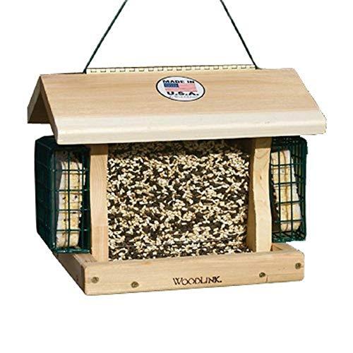 - BestNest Woodlink Premier Cedar Seed & Suet Bird Feeder