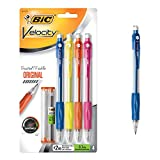 BIC Velocity Original Mechanical Pencil, Medium Point (0.7mm), 4-Count