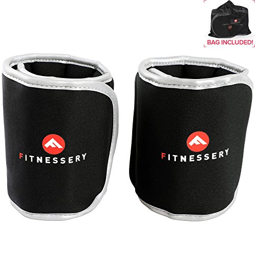 Highly Recommended Fitnessery Ankle Weights