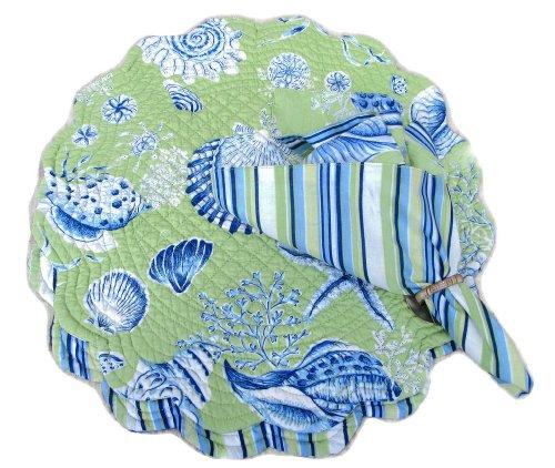 (Green Seashells 17