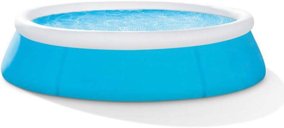 QAQQQ Piscina Inflable Familia Espesado De Gran Tamaño para Adultos Piscina para Niños Multiplayer Pool Blue-183×51cm