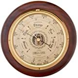 COBB & Co. Round Barometer (Walnut)