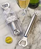 Amore Stainless Steel Bottle Opener (Set of 72)