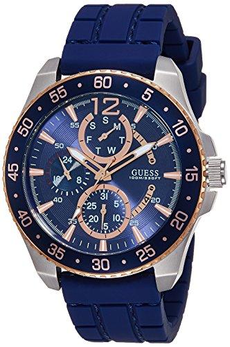Guess Herren-Armbanduhr Analog Quarz Kautschuk W0798G2