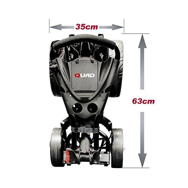 EZE-Glide-Compact-Quad-Golf-Trolley-Black