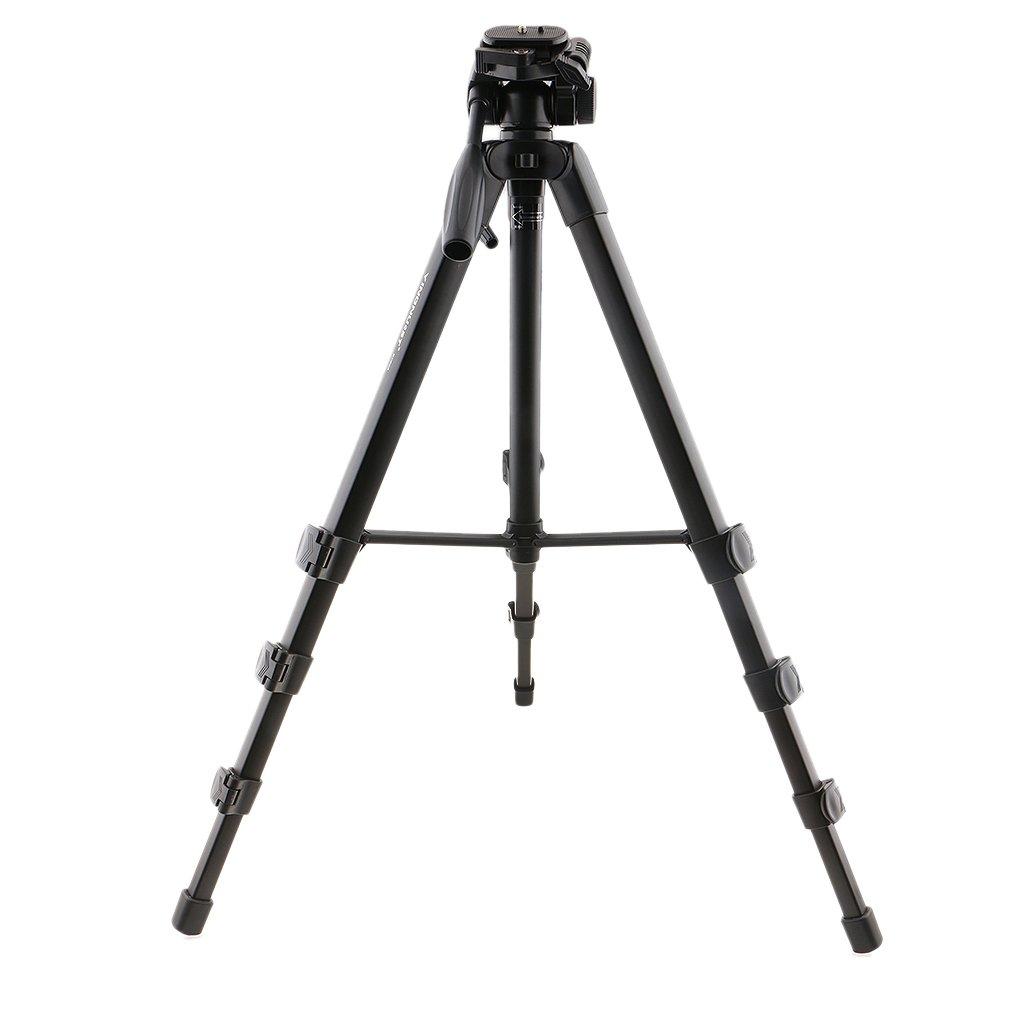 人気ブランドを baoblaze 65インチProfessional Head Heavy Dutyアルミニウム三脚& Pan Head for for DSLRカメラ Pan B0791FQXBM, グラスパパ40:58237918 --- arianechie.dominiotemporario.com