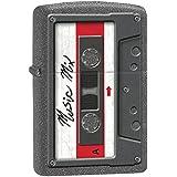 Zippo Lighter: Cassette Tape - Iron Stone 78252