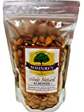 Whole Natural California Almonds (16oz) Steam Pasteurized Almonds from the Sohnrey Family Farm
