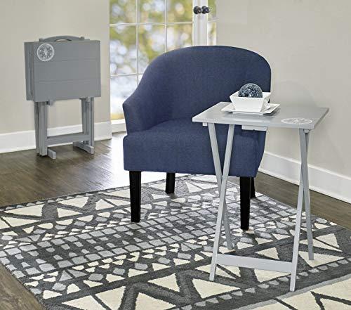 Linon Compass Tray Table Set ()