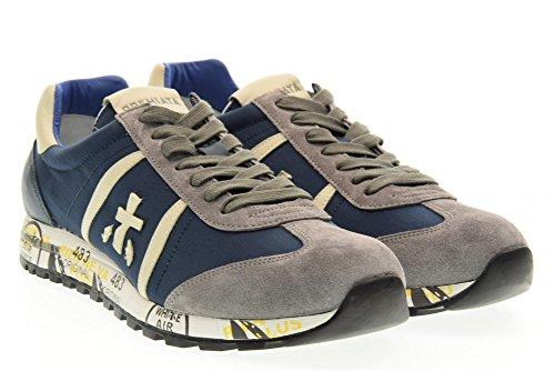 PREMIATA el hombre bajas zapatillas de deporte 2027 LUCY talla 41 Azul / gris