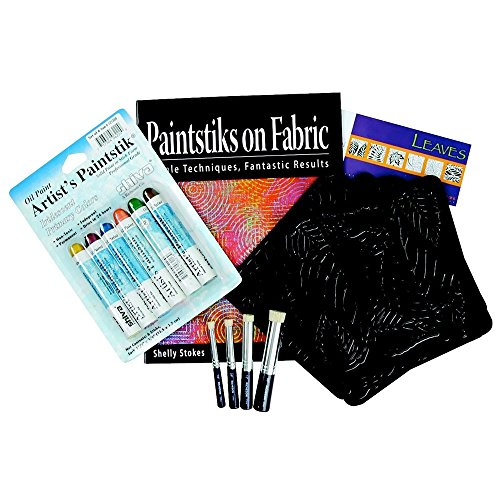 Jack Richeson 121902 Paintstik on Fabric Starter Kit by Jack Richeson