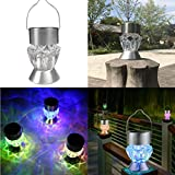 XEDUO Solar Light Bulb, Waterproof Solar Rotatable Outdoor Home Garden Camping Hanging LED Light Diamond Lamp Bulb (Clear) Review